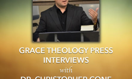 An Interview with Dr. Christopher Cone (Part 1)