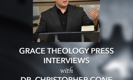 An Interview with Dr. Christopher Cone (Part 2)