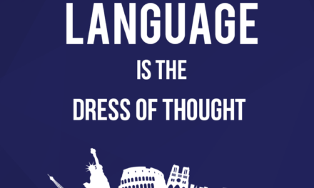 Language is the Dress of Thought