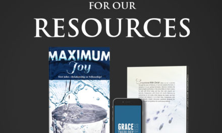 The Reason For Our Resources