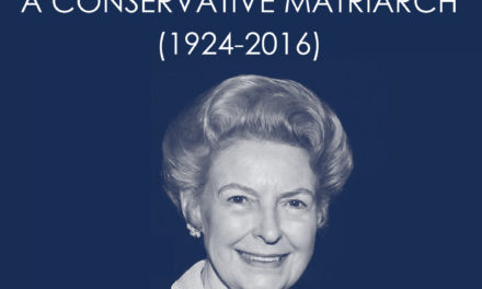 Phyllis Schlafly, A Conservative Matriarch (1924-2016)