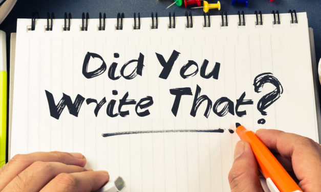 Did You Write That?