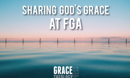 Sharing God's Grace at FGA